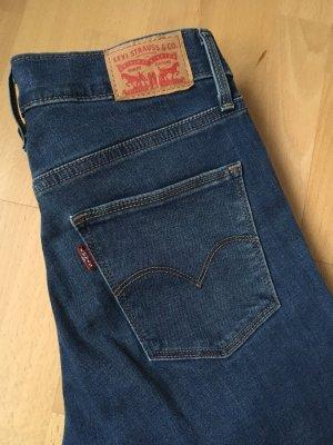 Slimming Skinny Jeans dunkelblau