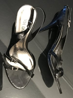 Sling Lack Sandaletten von Via Uno