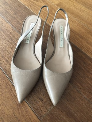 Sling Pumps beige