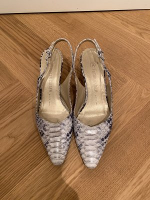 Sling Pumps in Snake von Peter Kaiser