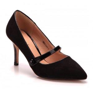 Sling Pumps Schuhe Absatzschuhe schwarz 40