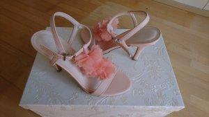 Sling Sandaletten Apricot Rose Gr. 37