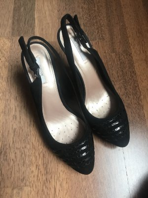 Geox Slingback Pumps black