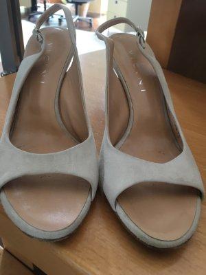 Vicini Décolleté modello chanel grigio chiaro-beige chiaro