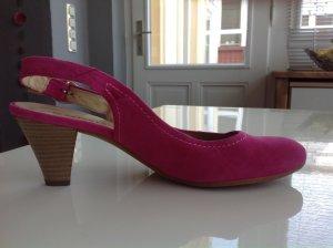 Slingpumps pink Gr. 6,5