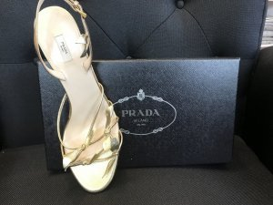 Prada Pumps gold-colored