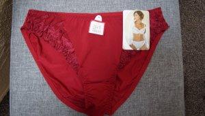 Bottom dark red nylon