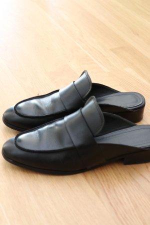 & other stories Zapatos sin cordones negro Cuero