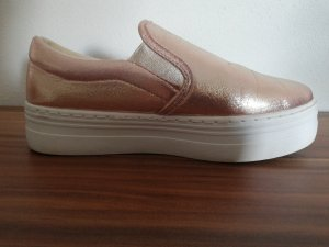 Slip On Schuh in Glitzerrose Gr. 38