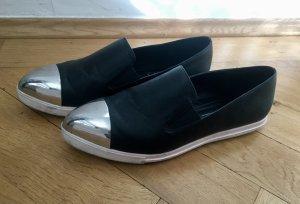 Slip-on Sneaker mit Metallkappe, Miu Miu-Style