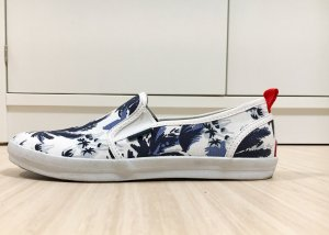 Slip on Superdry Gr. 41, weiß blau