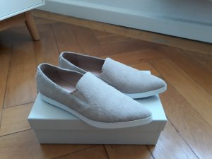 Slip-ons mit Kuhfell