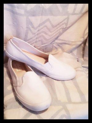 Slip-ons weiß Ballerinas