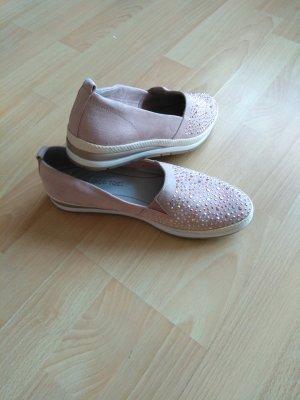 Marco Tozzi Zapatos formales sin cordones rosa claro