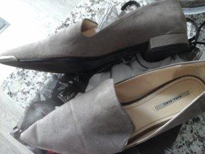 Zara Slippers light grey