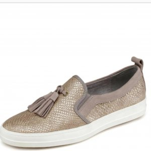 Tamaris Slippers gold-colored-taupe
