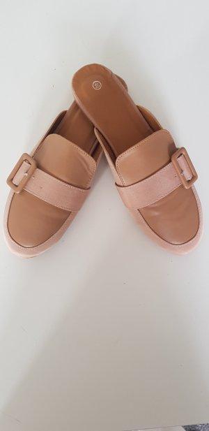 SheIn Zapatos formales sin cordones nude-beige
