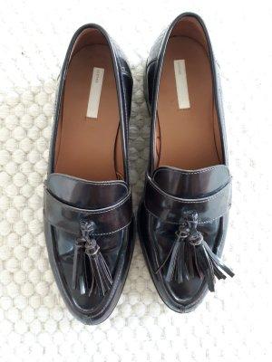 H&M Pantoffels bruin-paars