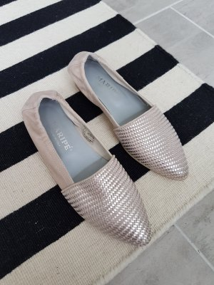 Maripé Slippers rose-gold-coloured