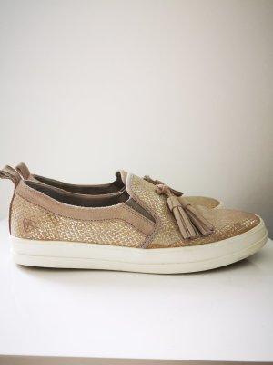Tamaris Pantoffels goud