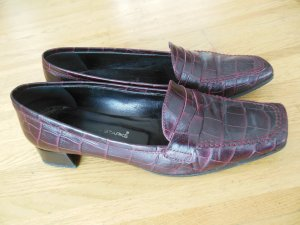 Slipper / College Schuh in Kroko Optik, Gr. 39, Konstantin Starke