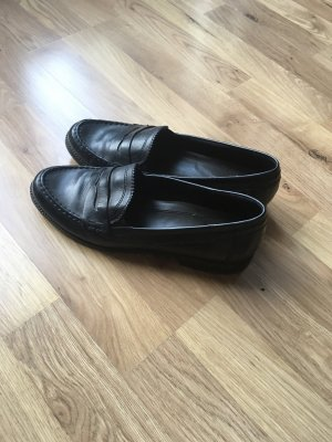 van der Laan Slippers black