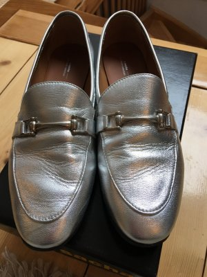 "Slipper ""Gucci Style"" Silber"