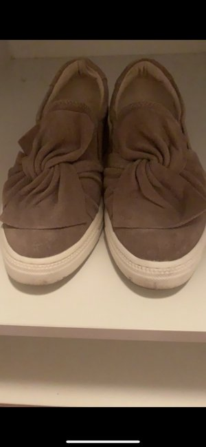 5th Avenue Sailing Shoes grey brown-light brown