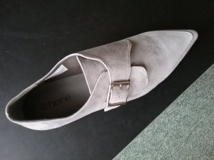 Slipper hellgrau Gr.41