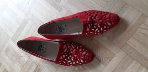 Wingtip Shoes red