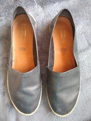 5th Avenue Slippers black-oatmeal