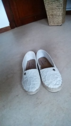 Slipper in Weiß