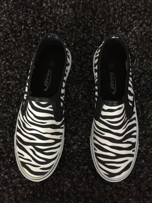 Slipper in Zebraprint