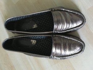 Slipper metallisch gold 38