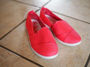 Slippers white-pink