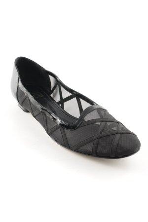 Slippers black elegant