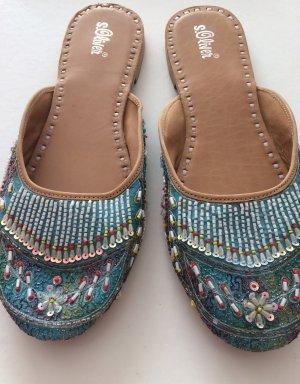 Slipper * Sommerschuhe * bestickte Schuhe