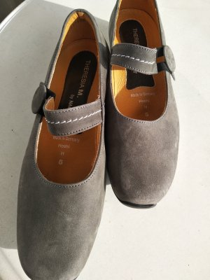 Theresia m. Slippers grey
