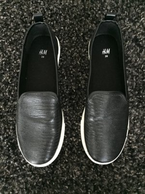 Slipper von H&M Kunstleder