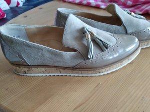 Paul Green Zapatos formales sin cordones crema