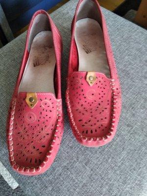 Rieker Zapatos formales sin cordones carmín