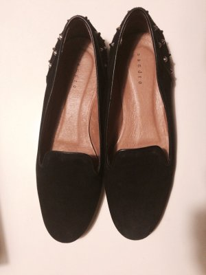 Sandro Paris Low Shoes black leather