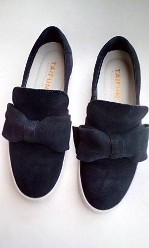 Taifun Zapatos formales sin cordones azul oscuro Gamuza