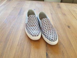 Tamaris Zapatos formales sin cordones color plata-azul claro