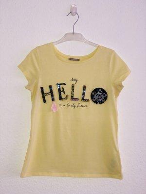 Orsay Camiseta amarillo-amarillo pálido