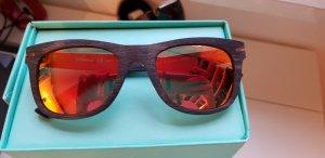 Slokker polarisierte Sonnenbrille skibrille in holzoptik Np: 130€