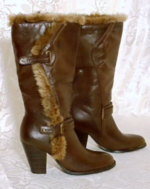 Slouch Fell Boots 36 Braun