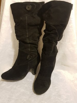 SDS Slouch Boots black