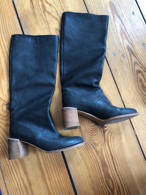 See by Chloé Slouch Boots black-light brown