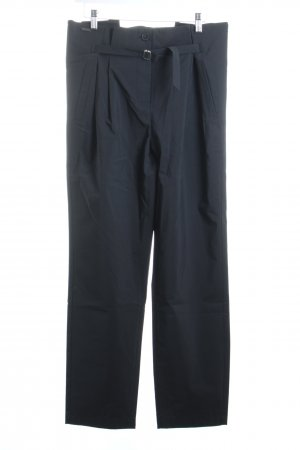SLVR Pantalone peg-top nero stile atletico